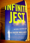 The cover of infinite jest