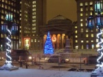 Christmas Tree in Old Montreal
