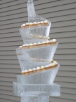 Ice Wine Cupcake Sculpture