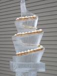 Ice Wine Cupcake Sculpture